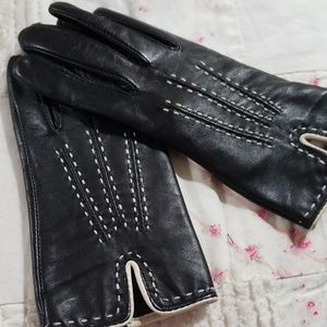 Preston & York leather gloves size S NWOT